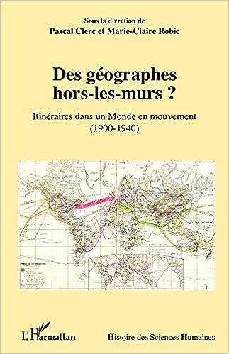 Book Des géographes hors-les-murs ?