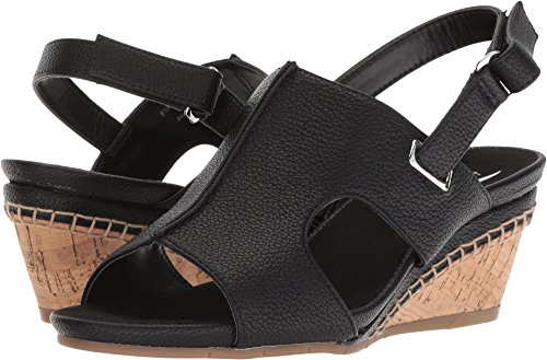 Aerosoles Women's Shortcake Sandal, Black Soft, 9 M US - Aerosoles Womens Wedge Shoes