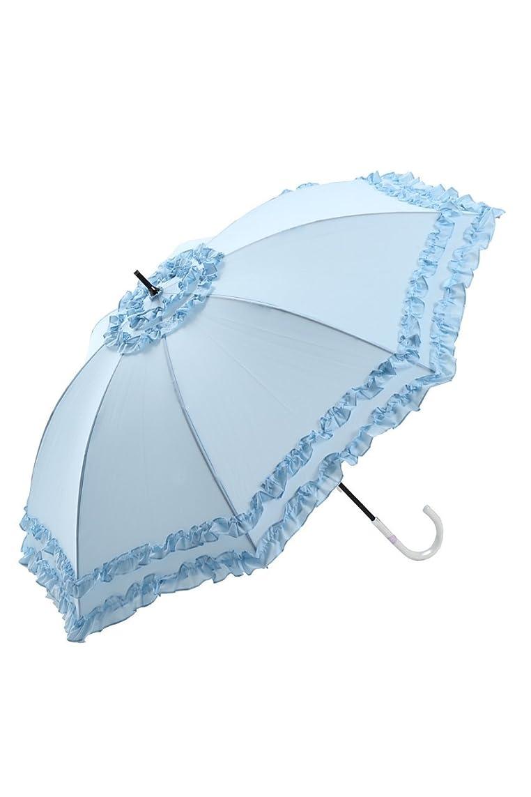 なぜなら縮約高原QIJOVO 折り畳み傘 強度 8本骨 折りたたみ傘 花柄 晴雨兼用 日傘 UVカット 紫外線遮蔽率99% 高密度NC布 耐風撥水 収納ポーチ付き