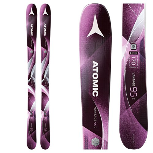 (Atomic Vantage 95 C Ski - Women's Berry/Rose, 162cm)