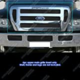 Fits 2004-2011 Ford F-650/F-750 Black Billet Grille Grill Insert #F65800H