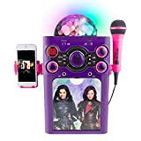 Have A Blast Singing And Dancing With Descendants Disco Ball Karaoke - Perfect Gift For Any Little Girl!