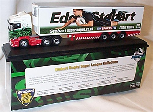 oxford haulage eddie stobart rugby super league london broncos lorry 1.76 scale diecast model by Oxford