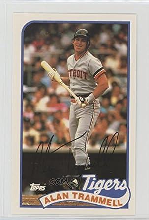 Amazoncom Alan Trammell Baseball Card 1989 Toppsljn