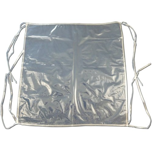 6 x Clear Plastic Dining Chair Seat Cushion Covers / Protectors ...