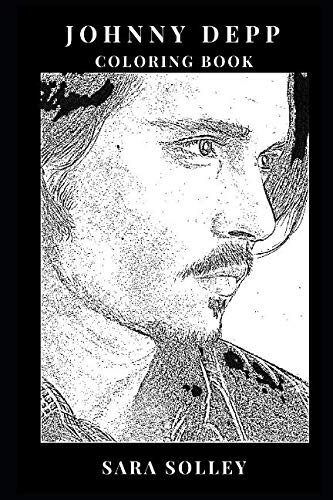 78b32c9fbae Johnny Depp Coloring Book  Great Acting Talent and A-List Celebrity