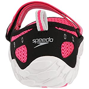 Speedo Women's Offshore Strap Athletic Water Shoe, Pink/White, 7 C/D US