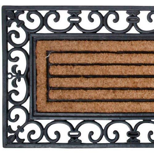 Esschert Design Rubber and Coir Doormat, X-Large