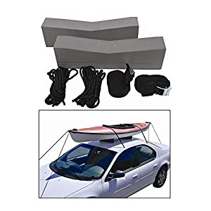 Attwood Kayak Car-Top Carrier Kit - Includes Two Supporting Foam Blocks