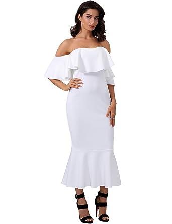 28e25678750b Adyce Bandage-Dress-White Mermaid Cocktail Dress Pretty Lotas Wedding Guest  Dress
