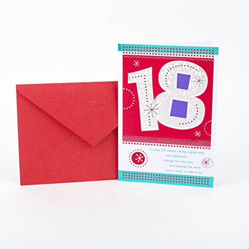 Hallmark 18th Birthday Greeting Card (This is your day)