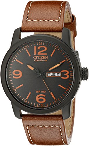 Citizen Men's Eco-Drive Stainless Steel Watch with Day/Date, BM8475-26E - Eco Drive Stainless Steel Watch