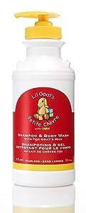 Li'l Goats by Canus Fresh Goat's Milk Shampoo and Body Wash, 16 Fluid Ounce