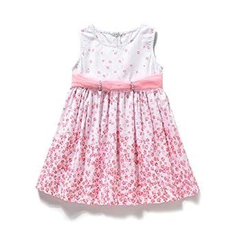 Kids Princess Girls Summer Dress 2 3 4 5 Years Old Baby Girls Vest