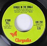 Bungle In The Jungle b/w Back-Door Angels: Jethro Tull vinyl 45