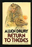 Front cover for the book Return to Thebes by Allen Drury