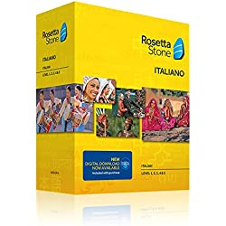 Learn Italian: Rosetta Stone Italian - Level 1-5 Set
