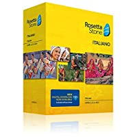 Learn Italian: Rosetta Stone Italian - Level 1-5 Set (Download Code Included)