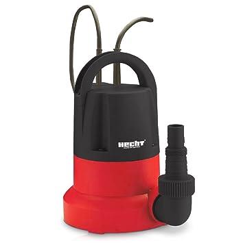 HECHT eléctrico de suciedad Bomba de agua 3455 - Bomba sumergible con var. Interruptor de flotador (400 W, 7000 l/h, altura de extracción 7 m): Amazon.es: ...