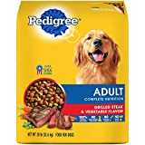 PEDIGREE Complete Nutrition Adult Dry Dog Food Grilled Steak & Vegetable Flavor, 30 lb. Bag For Sale
