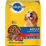 PEDIGREE Complete Nutrition Adult Dry Dog Food Grilled Steak & Vegetable Flavor, 30 lb. Bag