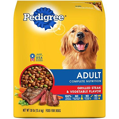 PEDIGREE Complete Nutrition Adult Dry Dog Food Grilled Steak & Vegetable Flavor, 30 lb. Bag For Sale
