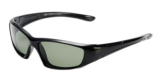 a5c0421c4fa BOZEVON Unisex Kids Sports Wrap Polarized Sunglasses Boys Girls Outdoor  Rubber Flexible Frame Eyeglasses