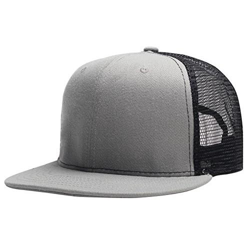55e88cd576a5d Aieoe Gorra de Béisbol Unisex Sombrero de Visera Plano Ajustable Snapback de  Moda para Hombre mujer