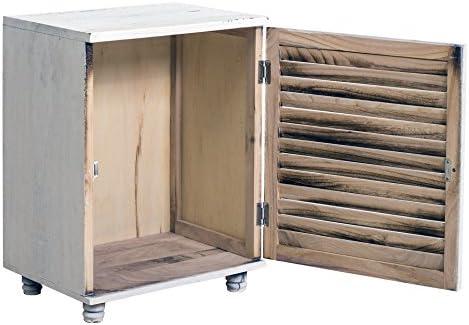 Rebecca SRL Nachttisch Nachtkästchen Holz Vintage Kabeljau Badezimmer Schlafzimmer (Cod. RE4063)