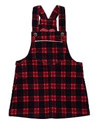 """OshKosh Little Girls' Toddler """"Redwood"""" Velvet Overall Skirt"""