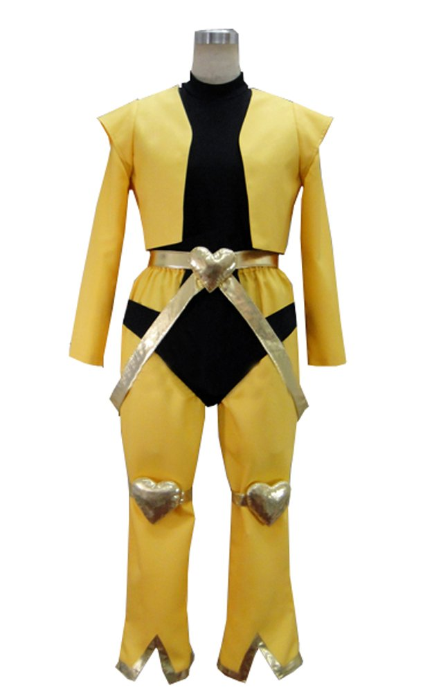 Vicwin-One Anime Dio Brando Uniform Outfit Cosplay Costume (Male XL) Black