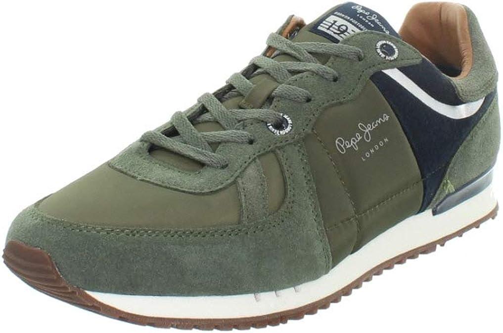 TALLA 40 EU. Zapatos pepe jeans pms30484 Caballero Verde