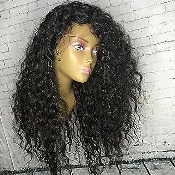 Femme Perruque de dentelle de cheveux humains