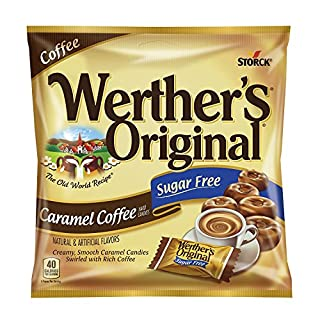 Werther's Caramel Coffee Sugar Free Candy (Pack of 12)