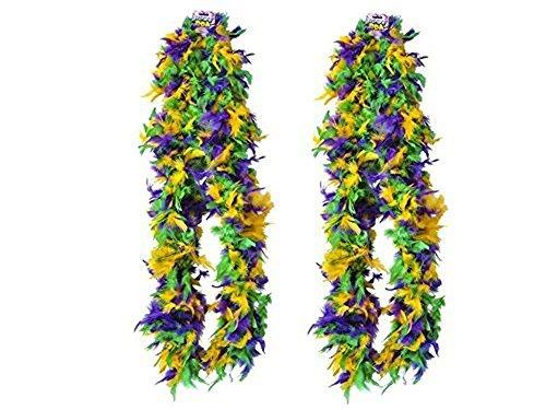 Block Buster Costumes New Deluxe Mardi Gras 72 Accesso Costume Accessory Feather Boa