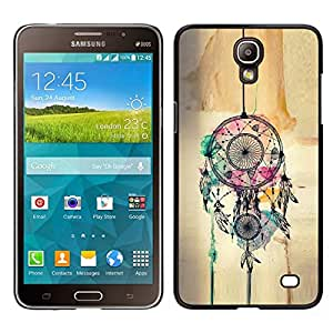 // PHONE CASE GIFT // Duro Estuche protector PC Cáscara Plástico Carcasa Funda Hard Protective Case for Samsung Galaxy Mega 2 / Catcher Art Hipster Indian /