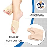 Bunion Corrector, Bunion Relief Sleeve Socks, Foot Toe Pads Cushion, Breathable Durable Protector, Treatment for Hallux Valgus Pain, Big Toe, Hammer Toe, Diabetic Feet (L)