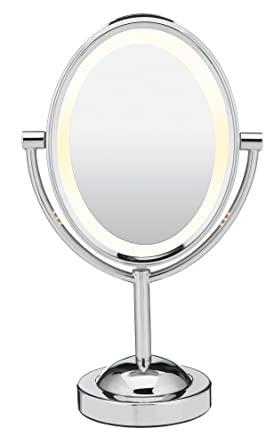 Amazoncom Conair Double Sided Lighted Makeup Mirror Lighted