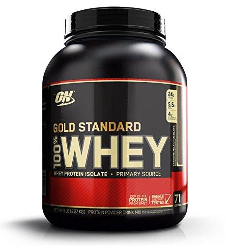 【国内正規品】Gold Standard 100% ホエイ エクストリーム ミルクチョコレート 2.27kg (5lb) B01L1NX32Q   2.27kg
