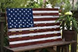 Kalalou Multi-Colored Wooden American Decorative Flag Review