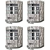 Moultrie MCA-12665 Panoramic Trail Game Camera Security Box | Fits P150 & P150i (4 Pack)