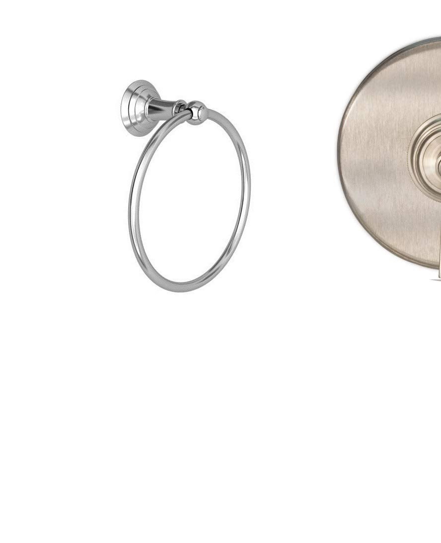 Newport Brass 34-09 Solid Brass Towel Ring from the Aylesbury and Jacobean Colle, Satin Nickel