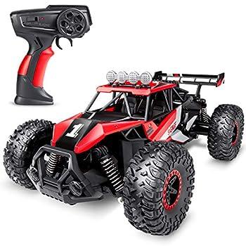 SGILE Distant Management Automotive Toy for Boys Ladies, 2.4 GHz RC Drift Race Automotive, 1:16 Scale Quick Speedy Crawler Truck, 2 Batteries for 50 Minutes Play, Toy Reward for Boys Ladies