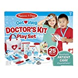 Melissa & Doug Get Well Doctor's Kit Play Set (25 Toy Pieces)