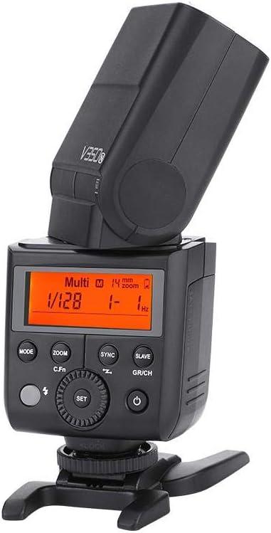 Camera Flash TTL Speedlite V350 TTL HSS Camera Speedlite Flash with Li-ion Battery for Cano n Niko n Son y Fuj i AC100-240V for Sony S