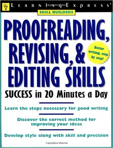 Proofreading revising editing success skill builders amazon proofreading revising editing success skill builders amazon books fandeluxe Gallery