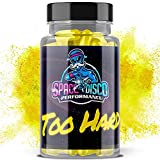 Too Hard Male Enhancing Pills | Natural Testosterone Booster for Men | Increases Energy, Stamina & Size w/Maca Root Powder, Korean Red Panax Ginseng, Yohimbine Hcl (20 Capsules) Made in The USA