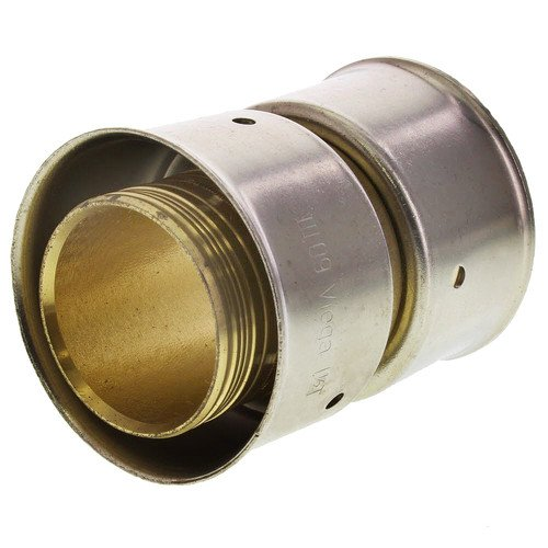 Zero Lead Bronze 1-1/2inch PEX Press Coupling whit Attached Sleeve