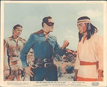 THE LONE RANGER AND LOST CITY OF GOLD CLAYTON MOORE JAY