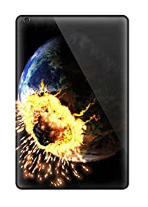 New Snap-on Lowomobilephone7 Skin Cases Covers Compatible With Ipad Mini- Earth Asteroid